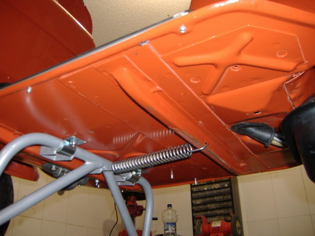 Vespa SL 125 restauracion