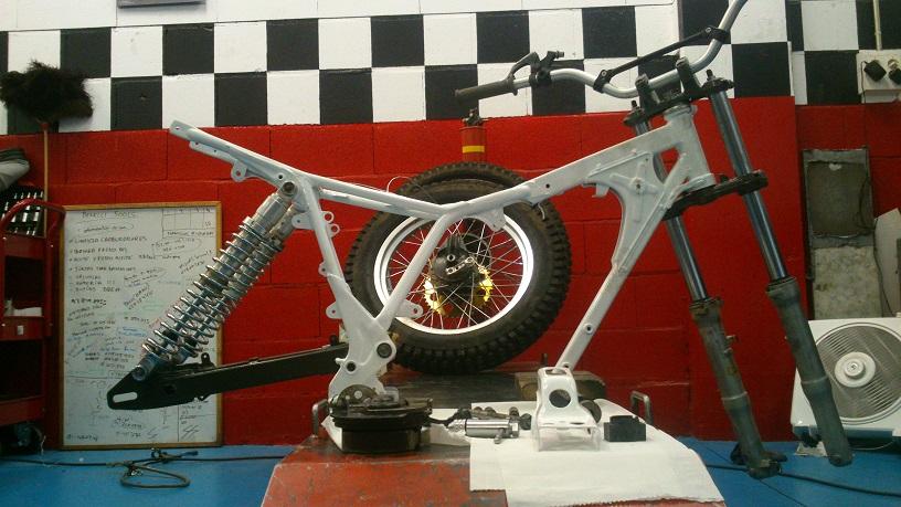 Honda TLR 200 trial
